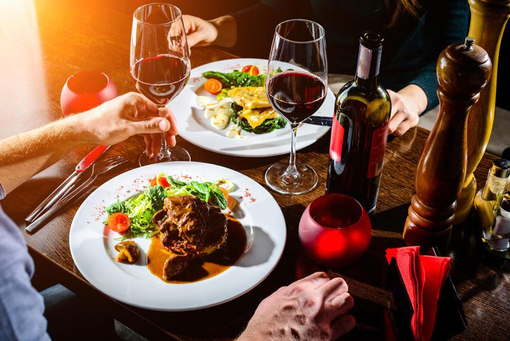Enjoy regional specialties in the numerous restaurants around Lake Constance