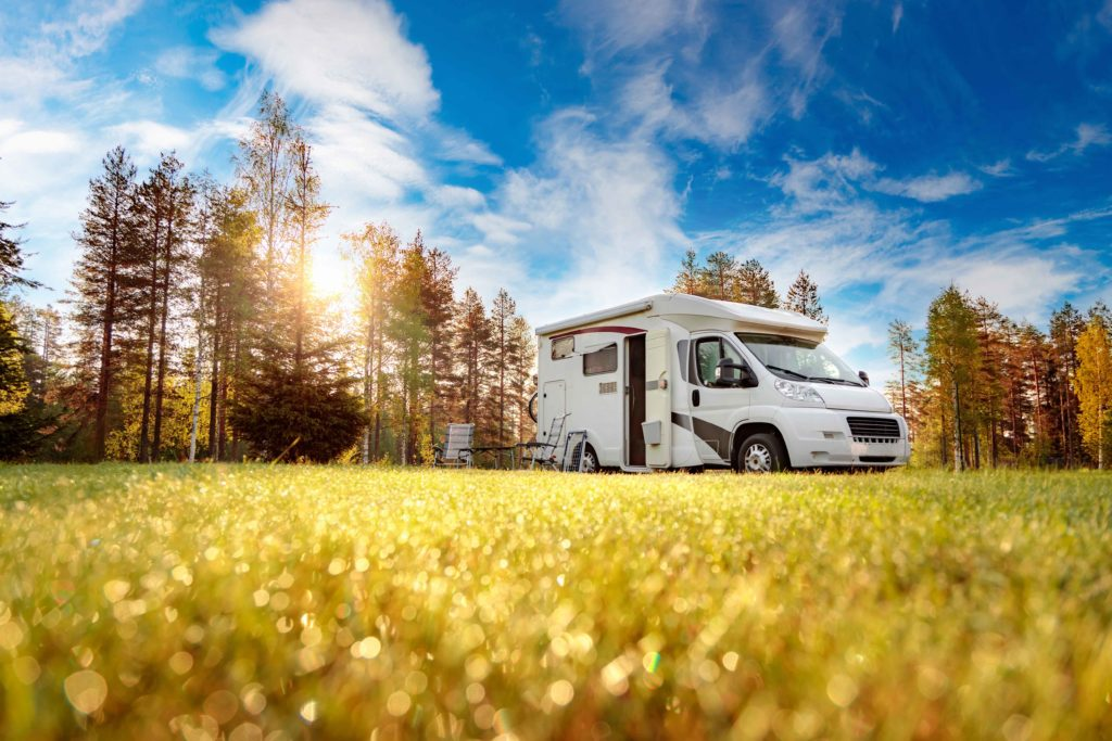 We also have a caravan park for RVs